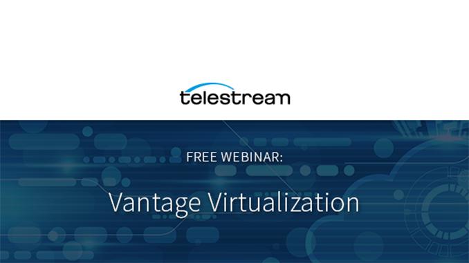 Webinar – Vantage Virtualization